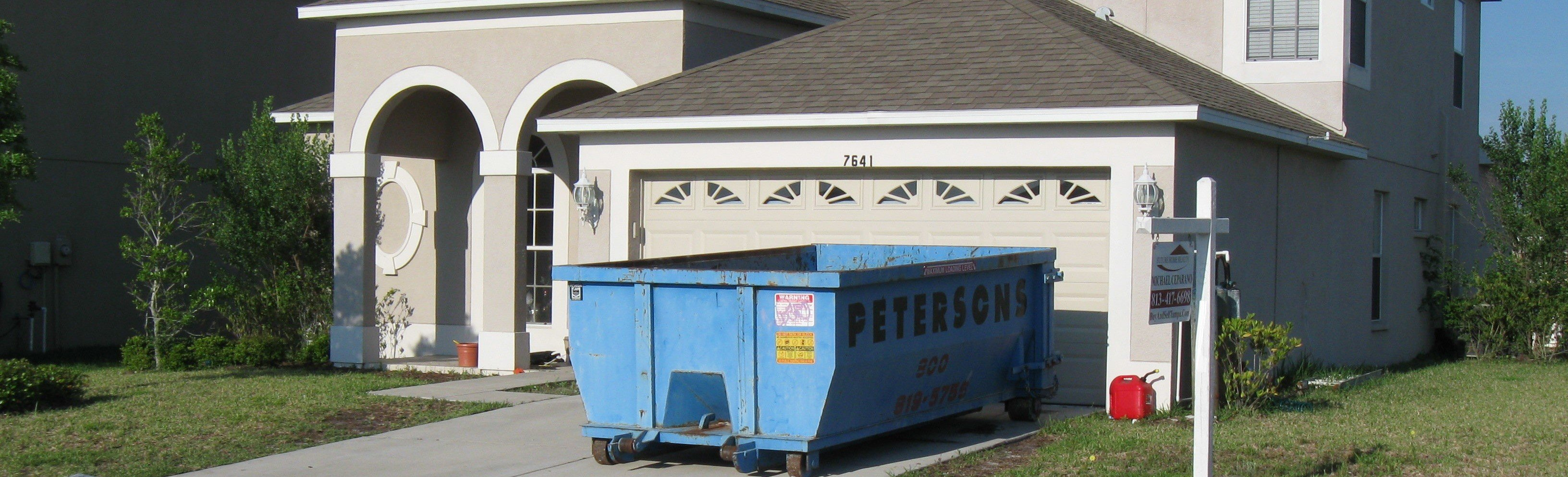 Residential Dumpster Rentals Elfers